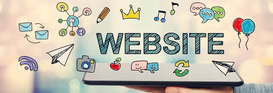 Créer un site web unique