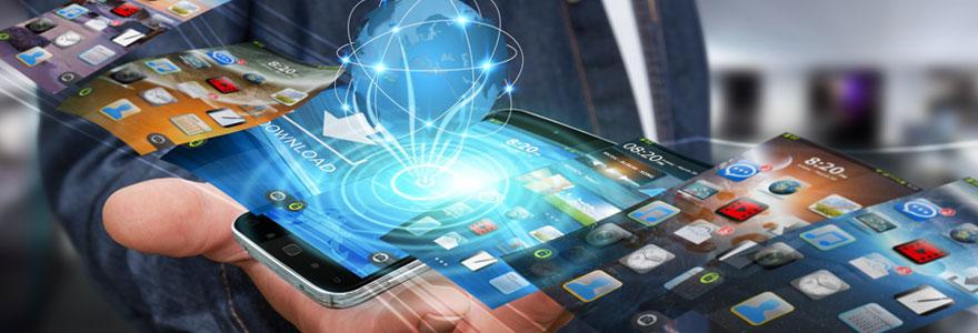 Développement d'applications mobiles en ligne